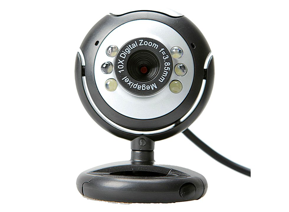 usb webcam web camera with led 5mp pc 6 cv199 buy at lowest prices. Black Bedroom Furniture Sets. Home Design Ideas