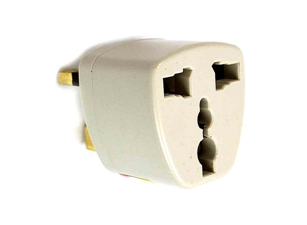 White English Stand Travel Adapter Plug Adapter R00381wh Buy At Lowest Prices