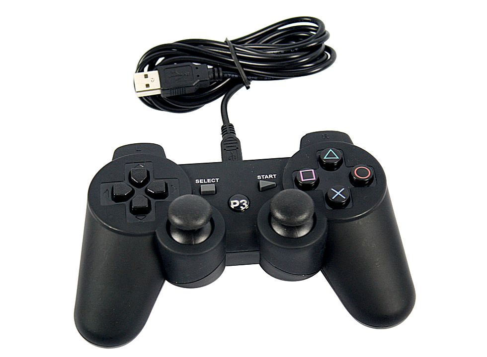 Wired Usb Controller For Sony Playstation And Pc 3 Ps3 V5226 Buy At Lowest Prices