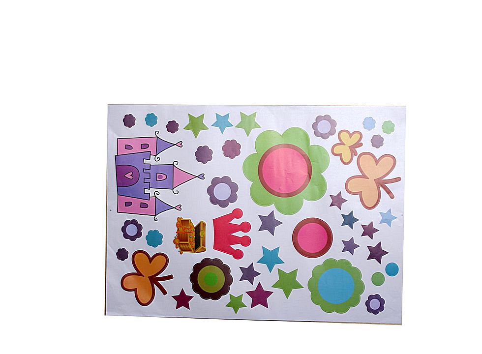 Star pattern home decor wall sticker 13006213 buy at for Star home decorations