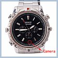 Adjustable Position Waterproof Watch With Spy Camera Silver 4GB High-quality E02805 1