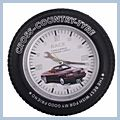 Mini Spy Car Wheel Clock Hidden Pinhole Camera 4GB E01025