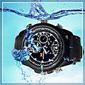 Outer Figures Waterproof Spy Watch Hidden Camera Black 640 x 480 4GB E02808 2