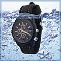 Waterproof Watch Hidden Spy Camera Black 1600 x 1200 4GB E02794 1