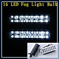Auto LED Fog Light Bulb DC White 16 12V Q00406WH