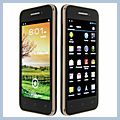 "BEDOVE Android Dual SIM Wifi FM Bluetooth GPS Touch Screen Cell Phone Black Gold X12 4.0"" 4.0 Quad-band A-GPS 3G HK-82010869"