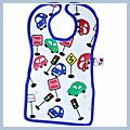 Lovely Car Style Baby Bib F00286
