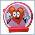 Health Mouse Pad with Heart Logo 608 C00806
