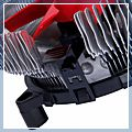 Pin Connector DC Computer Graphics Card Heatsinks Cooler Cooling Fan Red 11.2cm 3 12V 81006138 1
