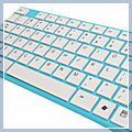 USB Interface Wired Keyboard Blue FC-8523 C01267 2
