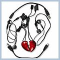 Red Heart Shape Player 2GB Lover's MP3 HK-E00402 1