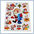 Beautiful Decoration Christmas Stickers TH-607 S01350