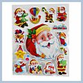 Beautiful Decoration Christmas Stickers TH-601 S01351