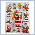 Beautiful Decoration Christmas Stickers TH-605 S01352