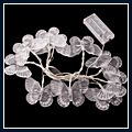 Long White Butterflies LED Light String Lamp 1.5m 10pcs J03552 1