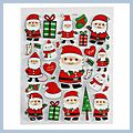 Pretty Decoration Christmas Stickers BLP049a HK-S01347