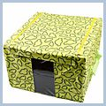 Cloud Pattern Storage Case Box Green 40cm J02596