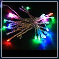 Colorful LED Battery Outdoor String Light 30 J03561