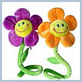 Openings Laugh Sunflower Curtain Buckle Small HK-W1005S