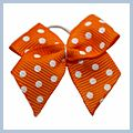 Orange Headdress Flower with White Flake for Dog Cat Pet P13112OR