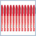 Red Beautiful Fashionable Medium Point Gel Pens 12pcs J5409RE