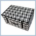 Storage Case Box Cell Black And white Circle 60 J02620