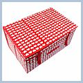 Storage Case Box Cell Love Red 60 J02622