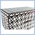 Storage Case Box x x Black and White 70 40 40 J02611