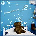 White Have Nice Day Wall Sticker a J00548WH