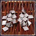 Fashion Sterling Silver Leaves Earrings 925 S01589