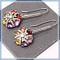New Bouquet Design Dangle Earrings Colorful S01608 2