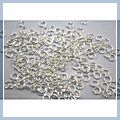 """Silver Plated Jump Rings 2000 0.20"""" A052 S8002"""