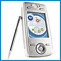 Motorola E680i review, specifications, manual and drivers