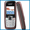 Nokia 2610 review, specifications, manual and drivers