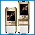 Nokia 8800 Gold Arte review, specifications, manual and drivers