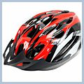 Red New Bicycle Helmet Q00449RE