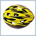 Yellow Youth Bicycle Helmet Q00449YE