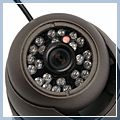 inch HD CCD Metal Dome LEDS Indoor Security Camera Gray 1 3 480TVL 24 21000294 2
