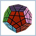 Color Polygonal Magic Cube 12 W2079
