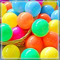 Corlorful Ocean Ball Tent Ball Toy 50pcs W01201