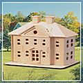 Country Mansion Woodcraft Construction Kit Puzzle Toy W6018