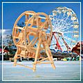 Ferris Wheel Model Woodcraft Construction Kit Puzzle Toy 3D W6019