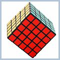 Funny Rubiks Speed Cube Magic IQ Square Puzzle Toy Gift Black 5x5x5 14001879