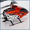Metal Frame RC Helicopter with Gyroscope Orange Golden 3.5CH & 14001747 1