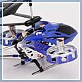 Remote Control Helicopter with Gyro Blue 4CH HK-14001814 1