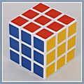 Rubic Rubix Rubiks Magic Square Cube Twist Puzzle Toy White 3x3x3 14001863