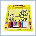 Sand Painting Color Blister Card 32k HK-W2033