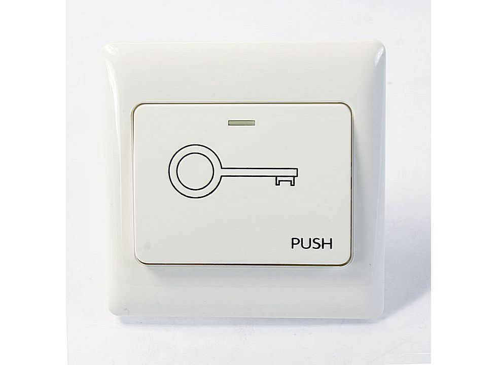 Electric Door Strike Push Release Button Exit Switch 800a