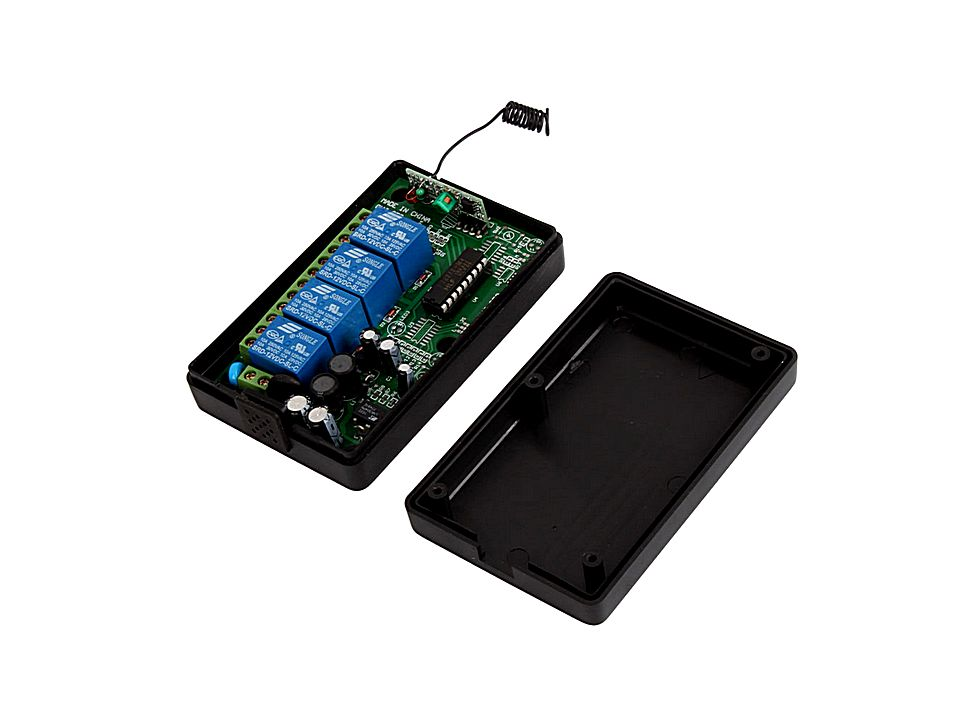 Remote Control Switch Receiver And Transmitter 220v 10a