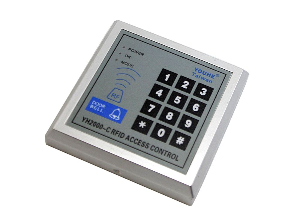 Single Door Proximity Entry Lock Keypad Access Control System 2000c